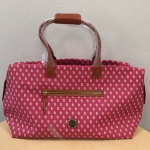 NWT Authentic Dooney & Bourke red duffle bag